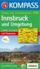 Kompass: WK 036 Innsbruck und Umgebung 1:35 000