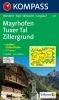 Kompass: WK 037 Mayrhofen-Tuxer Tal-Zillergrund 1:25 000