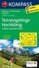 Kompass: WK 15 Tennengebirge-Hochkönig 1:50 000