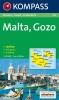 Kompass: WK 235 Malta 1:25 000