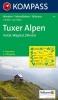 Kompass: WK 34 Tuxer Alpen-Inntal-Wipptal-Zillertal 1:50 000