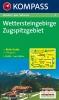 Kompass: WK 5 Wettersteingebirge-Zugspitzgebiet 1:50 000