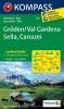 Kompass: WK 616 Gröden-Val Gardena-Sella-Canazei 1:25 000