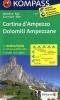 Kompass: WK 617 Cortina d'Ampezzo-Dolomiti Ampezzane 1:25 000