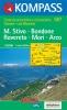 Kompass: WK 687 Monte Stivo-Monte Bondone 1:25 000
