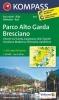 Kompass: WK 694 Parco Alto Garda Bresciano 1:25 000
