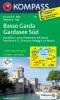 Kompass: WK 695 Basso Garda-Gardasee Süd 1:25 000