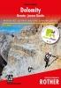 Rother: Dolomity - zajištěné cesty