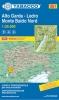 Tabacco: WK 061 Alto Garda - Ledro - Monte Baldo Nord 1:25 000