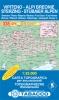 Tabacco: WK 38 Vipiteno - Alpi Breonie / Stubaiské Alpy