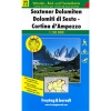 FaB: WKS 10 Sextener Dolomiten-Cortina d'Ampezzo 1:50 000
