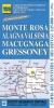 IGC 109: Monte Rosa - Macugnaga - Gressoney 1:25 000