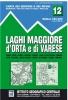 IGC 12: Laghi Maggiore, d'Orta e Varese 1:50 000