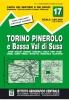 IGC 17: Torino, Pinerolo e Bassa Val di Susa 1:50 000