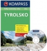 Kompass: Tyrolsko - Velký turistický atlas