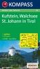 Kompass: WK 09 Kufstein-Walchsee-St. Johann in Tirol 1:25 000