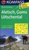 Kompass: WK 122 Aletsch-Goms-Lötschental 1:50 000