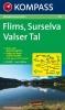 Kompass: WK 123 Flims-Surselva-Valser Tal 1:50 000