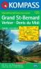 Kompass: WK 125 Grand St. Bernard 1:50 000