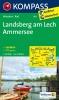 Kompass: WK 189 Landsberg-Lech-Ammersee 1:50 000