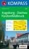 Kompass: WK 190 Augsburg-Dachau-Fürstenfeldbruck 1:50 000