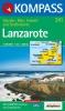 Kompass: WK 241 Lanzarote 1:50 000