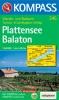 Kompass: WK 245 Plattensee-Balaton 1:50 000