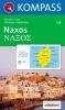 Kompass: WK 246 Naxos 1:40 000