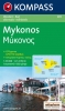 Kompass: WK 249 Mykonos 1:35 000