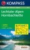 Kompass: WK 24 Lechtaler Alpen-Hornbachkette 1:50 000