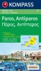Kompass: WK 251 Paros - Antiparos 1:40 000