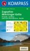 Kompass: WK 25 Zugspitze-Mieminger Kette 1:50 000