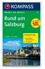 Kompass: WK 291 Salzburg, Rund um (2-mapy) 1:50 000