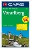 Kompass: WK 292 Vorarlberg (2-mapy) 1:50 000