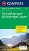 Kompass: WK 293 Dachsteingruppe-Schladminger Tauern 1:25 000