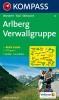 Kompass: WK 33 Arlberg-Verwallgruppe 1:50 000