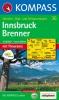 Kompass: WK 36 Innsbruck-Brenner 1:50 000