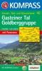 Kompass: WK 40 Gasteiner Tal-Goldberggruppe 1:50 000