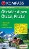 Kompass: WK 43 Ötztaler Alpen 1:50 000