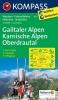 Kompass: WK 60 Gailtaler Alpen-Karnische Alpen 1:50 000
