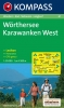 Kompass: WK 61 Wörthersee-Karwanken West 1:50 000