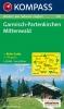 Kompass: WK 790 Garmisch Part.-Mittenwald 1:35 000