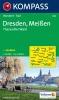 Kompass: WK 809 Dresden-Meissen-Tharandter Wald 1:50 000