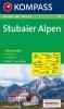 Kompass: WK 83 Stubaier Alpen 1:50 000