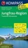 Kompass: WK 84 Jungfrau-Region Thuner und Brienzer See 1:50 000