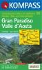 Kompass: WK 86 Gran Paradiso-Valle d' Aosta 1:50 000