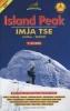 Nepa: Island Peak climbing mapa 1:30 000