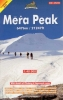 Nepa: Mera Peak climbing mapa 1:40 000