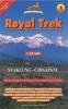 Nepa: Royal Trek Syaklung-Chisapani mapa 1:25 000