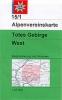 OEAV: 15/1 Totes Gebirge, West 1:25 000